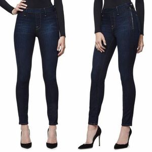 Good American • High Waisted Side Zip Jeans